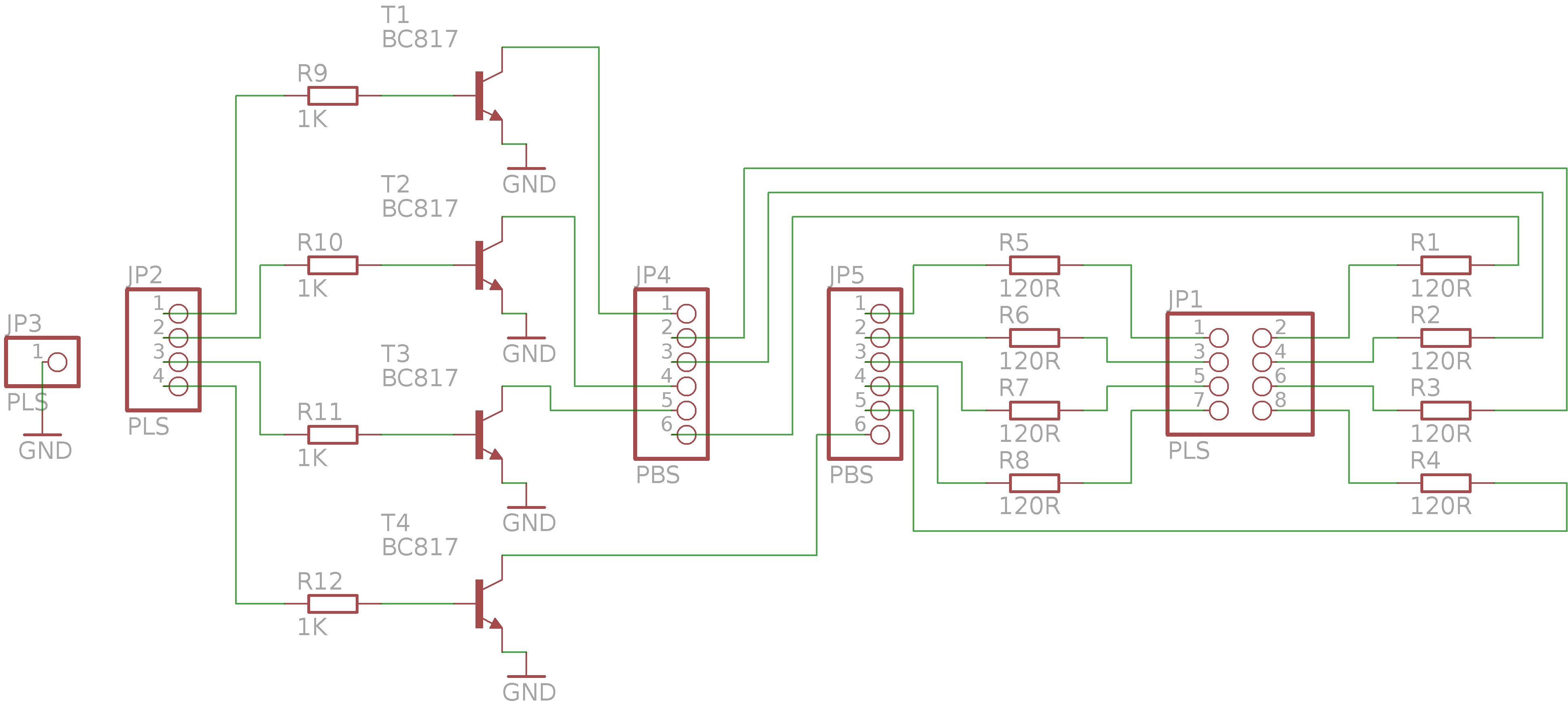scheme_LED 7 segment PCB